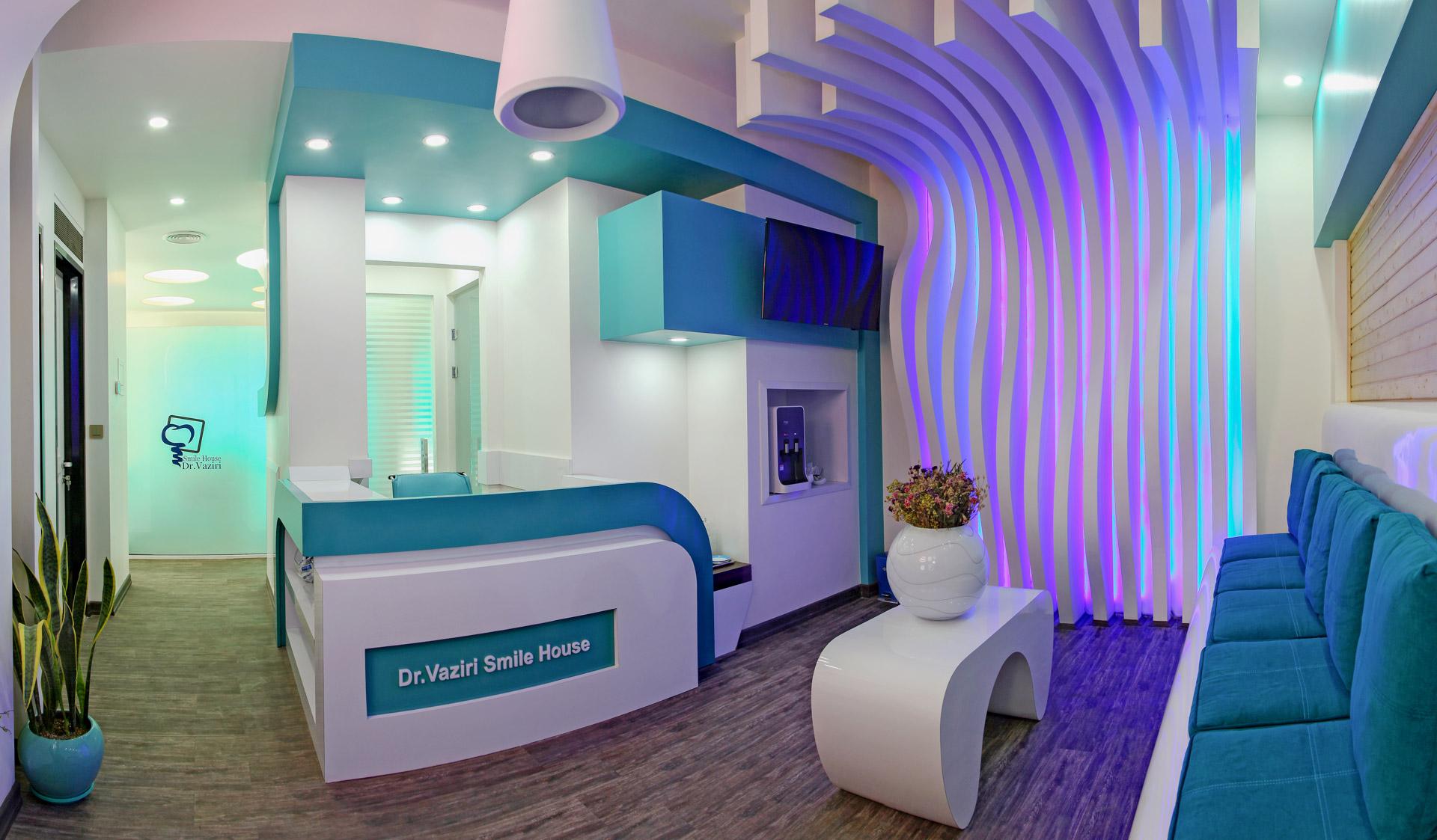 مطب دندانپزشکی دکتر الهام وزیری